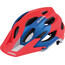 Alpina Carapax Helmet red-blue